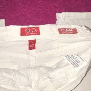 Gloria Vanderbilt Pants - NWT GLO Gloria Vanderbilt White Crop Capris Size 8